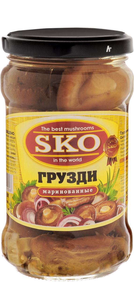 SKO Грузди маринованные, 314 мл галлюциногенные грибы где купить