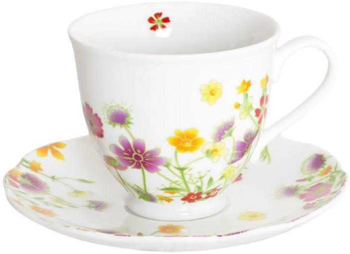 Чайный набор Domenik Meadow, цвет: белый с рисунком, 12 предметов. DM9374 набор ножей domenik city