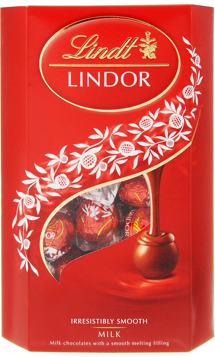 Lindt Lindor конфеты из молочного шоколада, 337 г конфеты lindor цена