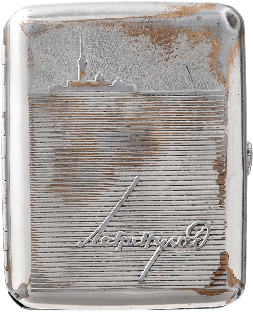 Портсигар Ленинград. Металл. СССР, 1960-е гг. ваза mughal l 20 х 20 х 30 см