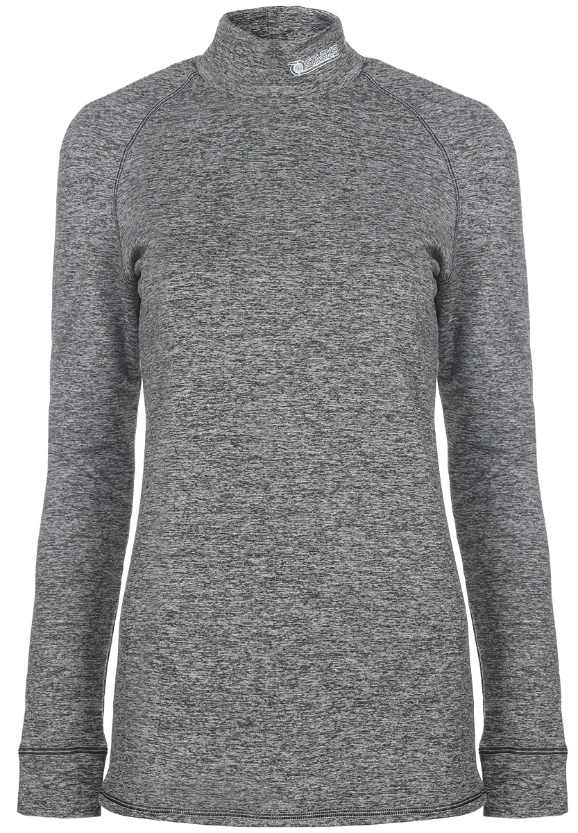 "Термобелье кофта женская Starks ""Warm"", зимняя, цвет: серый. Размер L"