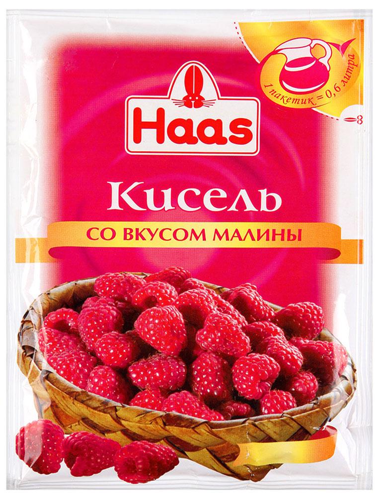 Haas кисель Малина, 75 г мусс haas шоколадный 65 г