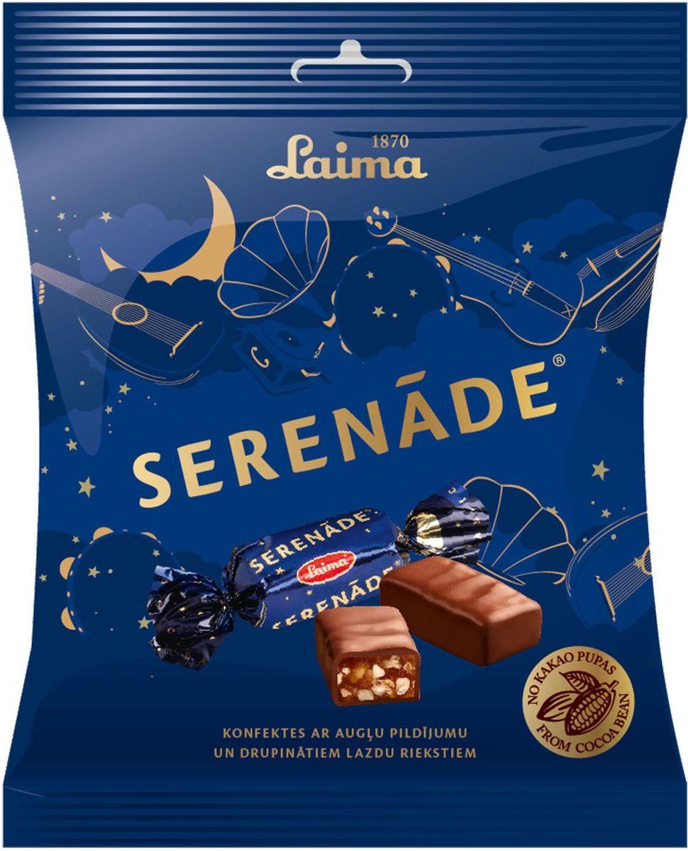 Laima Серенада конфеты с фруктовым желе, абрикосами и фундуком, 160 гP110509423Конфеты с фруктовым желе, абрикосами и фундуком Серенада.