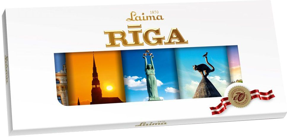Laima Рига Люкс темный шоколад, 5 шт по 20 г chokocat с днем рождения темный шоколад 85 г