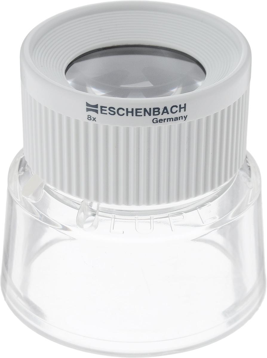 Лупа настольная Eschenbach Stand, 8.0х 28.7 дптр, диаметр 2,5 см монокуляр eschenbach microlux 6x18