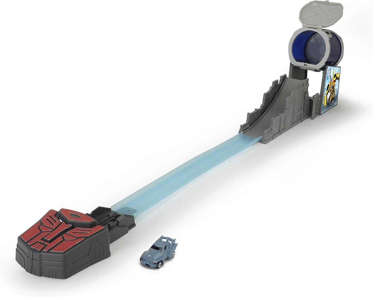 Dickie Toys Игрушечный трек-ловушка с машинкой Steel Jaw набор маленький трек с умной машинкой поли