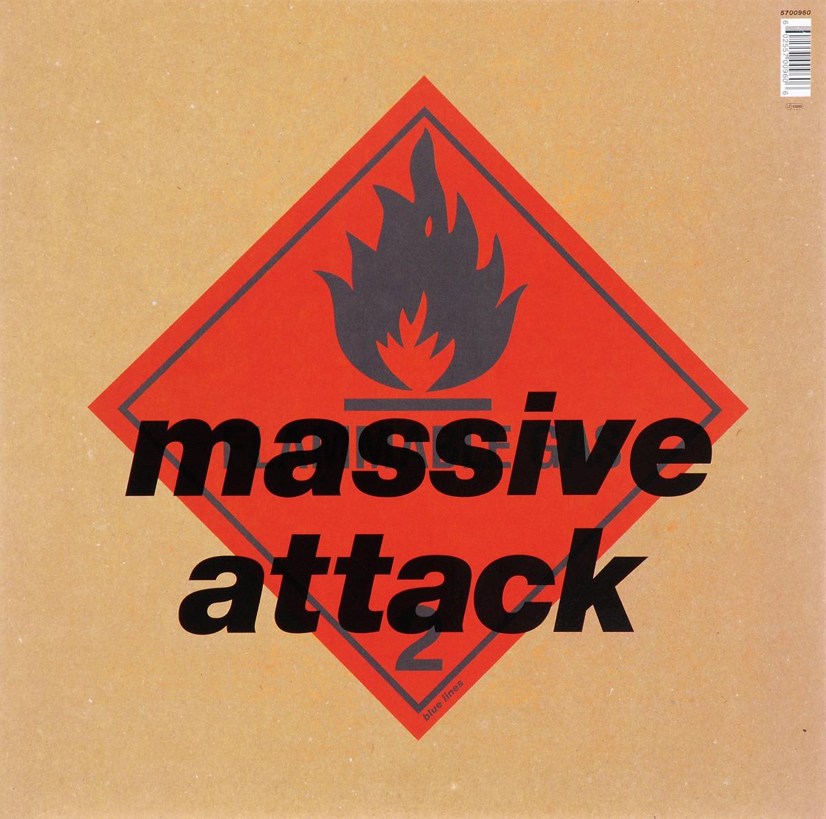Massive Attack Massive Attack. Blue Lines (LP)