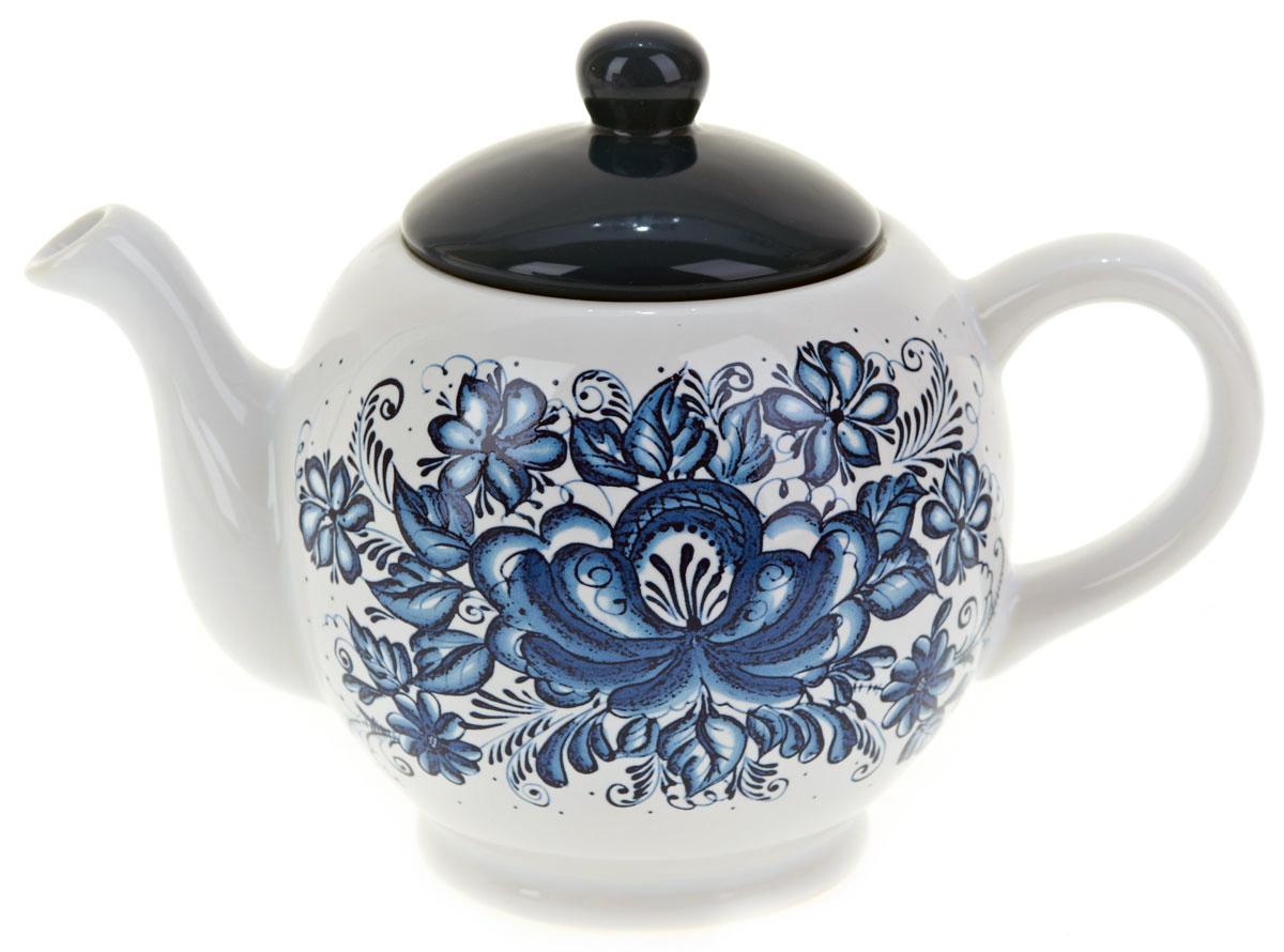 Чайник заварочный ENS Group Орнамент, 950 млL2520337Заварочный чайник Орнамент, изготовленный из высококачественной керамики, прекрасно впишется в интерьер вашей кухни и станет достойным дополнением к кухонному инвентарю. Изделие снабжено эргономичной крышкой и удобной ручкой. Такой чайник не только украсит ваш кухонный стол и подчеркнет прекрасный вкус хозяйки, но и станет отличным подарком.Можно мыть в посудомоечной машине.