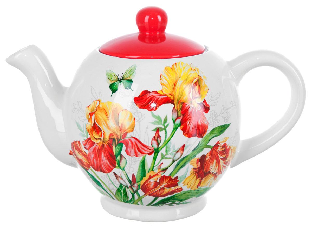 Чайник заварочный ENS Group Касатик, 1,1 л. L2520654L2520654Заварочный чайник Касатик, изготовленный из высококачественной керамики, прекрасно впишется в интерьер вашей кухни и станет достойным дополнением к кухонному инвентарю. Изделие снабжено эргономичной крышкой и удобной ручкой. Такой чайник не только украсит ваш кухонный стол и подчеркнет прекрасный вкус хозяйки, но и станет отличным подарком для близких и друзей.
