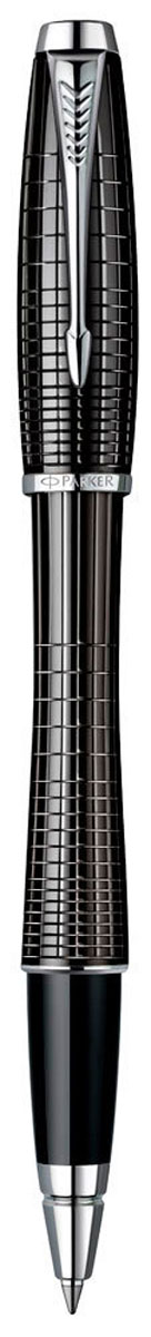Parker Ручка-роллер Urban Premium Ebony Metal ChiselledPARKER-S0911490Ручка-роллер Parker Urban Premium Ebony Metal Chiselled - идеальный инструмент для письма.Материал ручки - ювелирная латунь с покрытием лаком черного цвета, в отделке применяетсяхромирование. В ручке используются стандартные стержни-роллеры Parker, в комплект поставкивходит один стержень черного цвета. Данный пишущий инструмент поставляется в фирменнойподарочной коробке, что делает его превосходным подарком. В комплекте также входитгарантийный талон с международной гарантией на 2 года.Произведено во Франции.