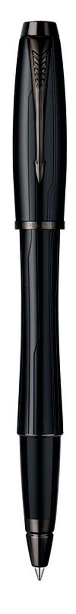 Parker Ручка-роллер Urban Premium Matte Black CTPARKER-S0949170Ручка-роллер Parker Urban Premium Matte Black CT - идеальный инструмент для письма.Материал ручки - ювелирная латунь с матовым покрытием лаком черного цвета, в отделкеприменяется гравировка в виде эксклюзивного орнамента из элегантных тонких линий,отдельные детали дизайна - черное лаковое покрытие. В ручке используются стандартныестержни-роллеры Parker, в комплект поставки входит один стержень черного цвета. Данныйпишущий инструмент поставляется в фирменной подарочной коробке, что делает егопревосходным подарком. В комплекте также идет гарантийный талон с международнойгарантией на 2 года.