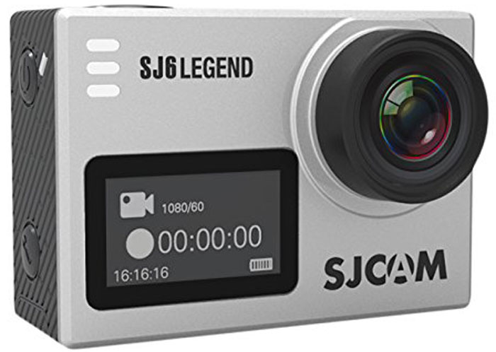 SJCAM SJ6 Legend, Silver экшн-камера экшн камера sjcam sj6 legend black