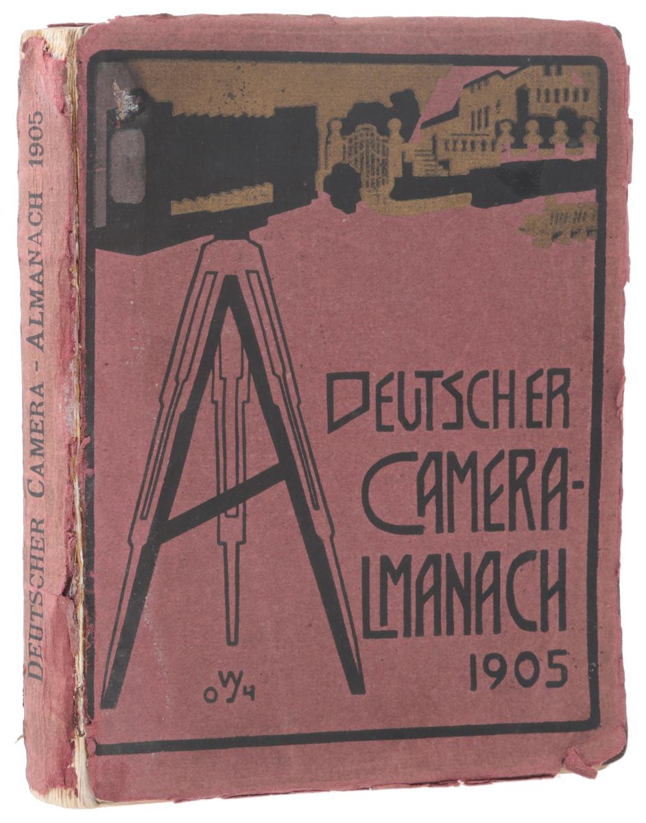 Deutscher Camera-Almanach, 19050120710Берлин, 1905 год. Издательство Verlag von Gustav Schmidt.Богато иллюстрированное издание.Типографская обложка.Сохранность хорошая.Вниманию читателей предлагается немецкий иллюстрированный альманах Deutscher Camera, издававшийся ежегодно и предназначенный для фотографов-любителей.В альманахе печатались статьи, посвященные художественным вопросам фотографии - выстраиванию композиции, особенностям портретной съемки, съемки пейзажей и архитектуры и проч.Издание богато иллюстрировано многочисленными примерами фотографий.Не подлежит вывозу за пределы Российской Федерации.