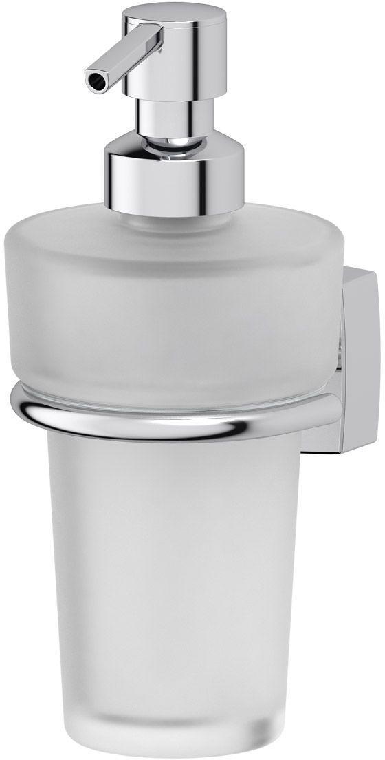 Держатель с емкостью для жидкого мыла FBS Esperado. ESP 009ESP 009Подвесной держатель FBS Esperado предназначен для хранения и удобного использования жидкого мыла. Держатель выполнен из высококачественной хромированной латуни. В комплекте емкость с дозатором для жидкого мыла. Благодаря компактным размерам и классическому дизайну держатель для впишется в интерьер любой ванной комнаты. Аксессуары торговой марки FBS производятся на заводе ELLUX Gluck s.r.o., имеющем 20-летний опыт работы. Предприятие расположено в Злинском крае, исторически знаменитом своим промышленным потенциалом. Компоненты из всемирно известного богемского хрусталя выгодно дополняют серии аксессуаров. Широкий ассортимент, разнообразие форм, высочайшее качество исполнения и техническое совершенство продукции отвечают самым высоким требованиям. Продукция FBS представлена на российском рынке уже более 10 лет и за это время успела завоевать заслуженную популярность у покупателей, отдающих предпочтение дорогой и качественной продукции.