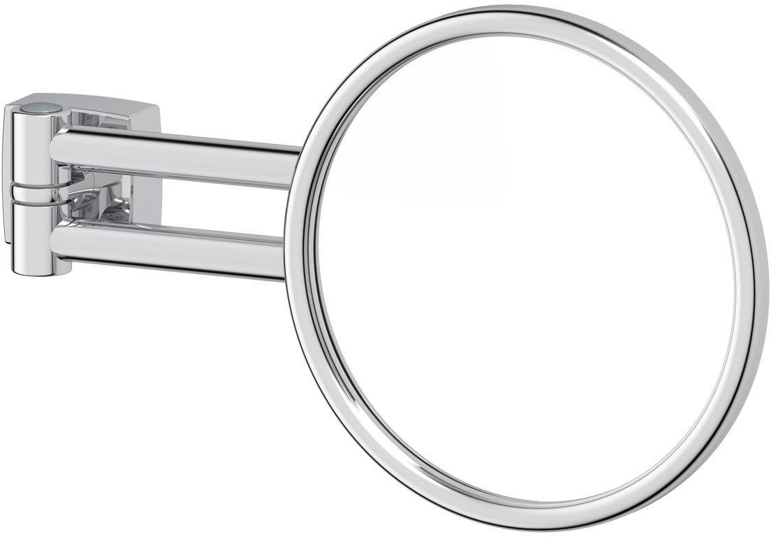 Косметическое зеркало FBS Esperado, увеличение x2,5, цвет: хром. ESP 02031021Косметическое зеркало для ванны FBS Esperado, изготовленное из хромированной стали и стекла, идеально подходит для нанесения макияжа исовершения различных косметических процедур. Изделие круглой формы имеет жесткое крепление к стене. Стильный дизайн зеркала делает его отличным подарком родным и близким, оно будет прекрасно смотреться в любом интерьере. Диаметр: 14,6 см.