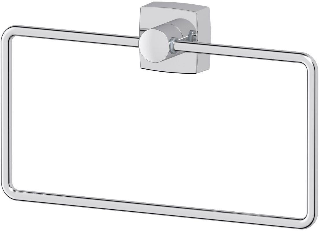 Держатель для полотенец FBS Esperado, прямоугольный. ESP 022ESP 022Держатель для полотенец FBS Esperado изготовлен из высококачественной хромированной латуни. Изделие крепится к стене при помощи шурупа. Классический дизайн подойдет для любого интерьера ванной комнаты. Размер держателя: 22 х 13 х 4 см. Аксессуары торговой марки FBS производятся на заводе ELLUX Gluck s.r.o., имеющем 20-летний опыт работы. Предприятие расположено в Злинском крае, исторически знаменитом своим промышленным потенциалом. Компоненты из всемирно известного богемского хрусталя выгодно дополняют серии аксессуаров. Широкий ассортимент, разнообразие форм, высочайшее качество исполнения и техническое совершенство продукции отвечают самым высоким требованиям. Продукция FBS представлена на российском рынке уже более 10 лет и за это время успела завоевать заслуженную популярность у покупателей, отдающих предпочтение дорогой и качественной продукции.