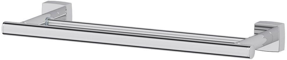 Штанга для полотенца FBS Esperado, двойная, 40 см, цвет: хром. ESP 035ESP 035Аксессуары торговой марки FBS производятся на заводе ELLUX Gluck s.r.o., имеющем 20-летний опыт работы. Предприятие расположено в Злинском крае, исторически знаменитом своим промышленным потенциалом. Компоненты из всемирно известного богемского хрусталя выгодно дополняют серии аксессуаров. Широкий ассортимент, разнообразие форм, высочайшее качество исполнения и техническое?совершенство продукции отвечают самым высоким требованиям. Продукция FBS представлена на российском рынке уже более 10 лет и за это время успела завоевать заслуженную популярность у покупателей, отдающих предпочтение дорогой и качественной продукции.