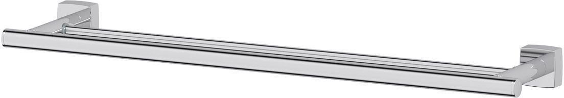 Штанга для полотенца FBS Esperado, двойная, 60 см, цвет: хром. ESP 037ESP 037Аксессуары торговой марки FBS производятся на заводе ELLUX Gluck s.r.o., имеющем 20-летний опыт работы. Предприятие расположено в Злинском крае, исторически знаменитом своим промышленным потенциалом. Компоненты из всемирно известного богемского хрусталя выгодно дополняют серии аксессуаров. Широкий ассортимент, разнообразие форм, высочайшее качество исполнения и техническое?совершенство продукции отвечают самым высоким требованиям. Продукция FBS представлена на российском рынке уже более 10 лет и за это время успела завоевать заслуженную популярность у покупателей, отдающих предпочтение дорогой и качественной продукции.