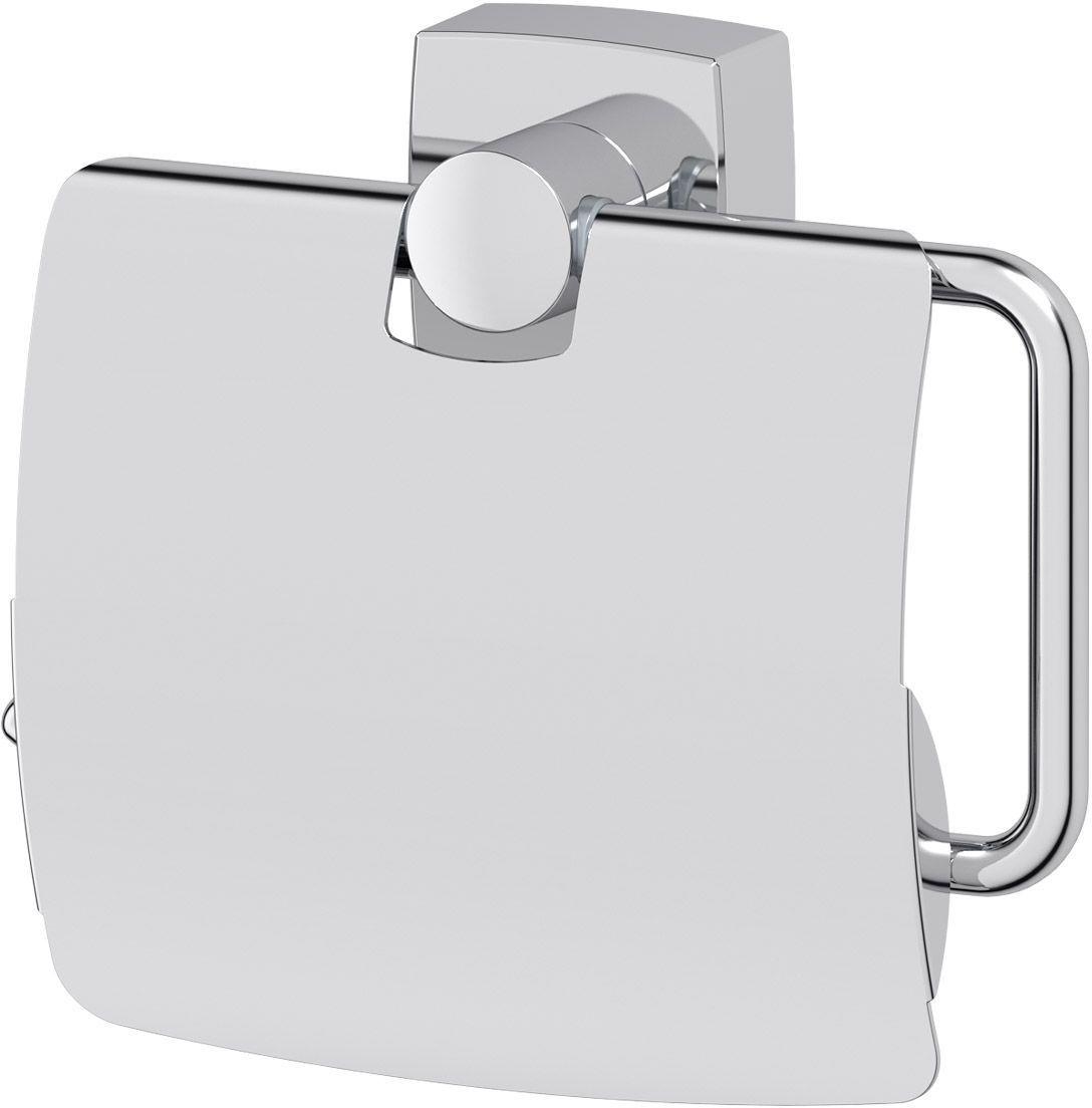 """Держатель для туалетной бумаги FBS """"Esperado"""" изготовлен из высококачественной хромированной латуни. Держатель дополнен крышкой.  Классический дизайн подойдет для любого интерьера туалетной комнаты.  Размер держателя: 14 х 12 х 4,7 см.  Аксессуары торговой марки FBS производятся на заводе ELLUX Gluck s.r.o., имеющем 20-летний опыт работы. Предприятие расположено в Злинском крае, исторически знаменитом своим промышленным потенциалом. Компоненты из всемирно известного богемского хрусталя выгодно дополняют серии аксессуаров. Широкий ассортимент, разнообразие форм, высочайшее качество исполнения и техническое совершенство продукции отвечают самым высоким требованиям. Продукция FBS представлена на российском рынке уже более 10 лет и за это время успела завоевать заслуженную популярность у покупателей, отдающих предпочтение дорогой и качественной продукции."""