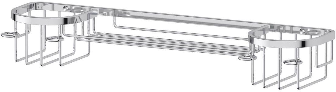 Держатель универсальный FBS Ryna, двойной, с фиксаторами для зубных щеток, 35 смRYN 035Универсальный двойной держатель FBS Ryna изготовлен из высококачественной хромированной латуни. Он позволит компактно разместить зубную пасту, щетки и другие аксессуары. По бокам предусмотрены фиксаторы для зубных щеток.Классический дизайн подойдет для любого интерьера ванной комнаты.Длина держателя: 35 см. Аксессуары торговой марки FBS производятся на заводе ELLUX Gluck s.r.o., имеющем 20-летний опыт работы. Предприятие расположено в Злинском крае, исторически знаменитом своим промышленным потенциалом. Компоненты из всемирно известного богемского хрусталя выгодно дополняют серии аксессуаров. Широкий ассортимент, разнообразие форм, высочайшее качество исполнения и техническое совершенство продукции отвечают самым высоким требованиям. Продукция FBS представлена на российском рынке уже более 10 лет и за это время успела завоевать заслуженную популярность у покупателей, отдающих предпочтение дорогой и качественной продукции.