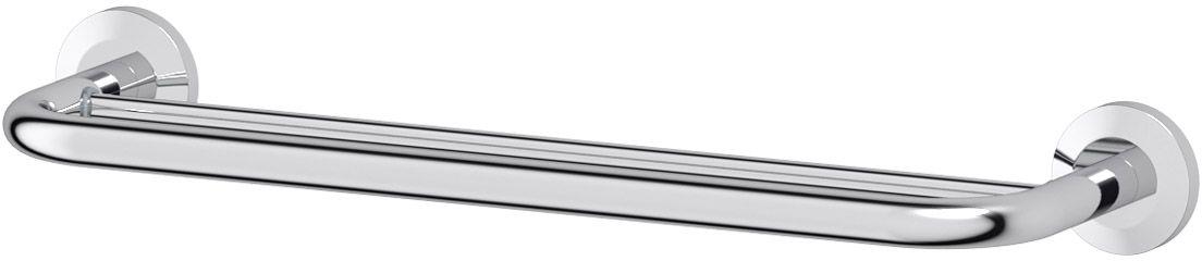 Штанга для полотенца FBS Standard, двойная, 50 см, цвет: хром. STA 036STA 036Аксессуары торговой марки FBS производятся на заводе ELLUX Gluck s.r.o., имеющем 20-летний опыт работы. Предприятие расположено в Злинском крае, исторически знаменитом своим промышленным потенциалом. Компоненты из всемирно известного богемского хрусталя выгодно дополняют серии аксессуаров. Широкий ассортимент, разнообразие форм, высочайшее качество исполнения и техническое?совершенство продукции отвечают самым высоким требованиям. Продукция FBS представлена на российском рынке уже более 10 лет и за это время успела завоевать заслуженную популярность у покупателей, отдающих предпочтение дорогой и качественной продукции.