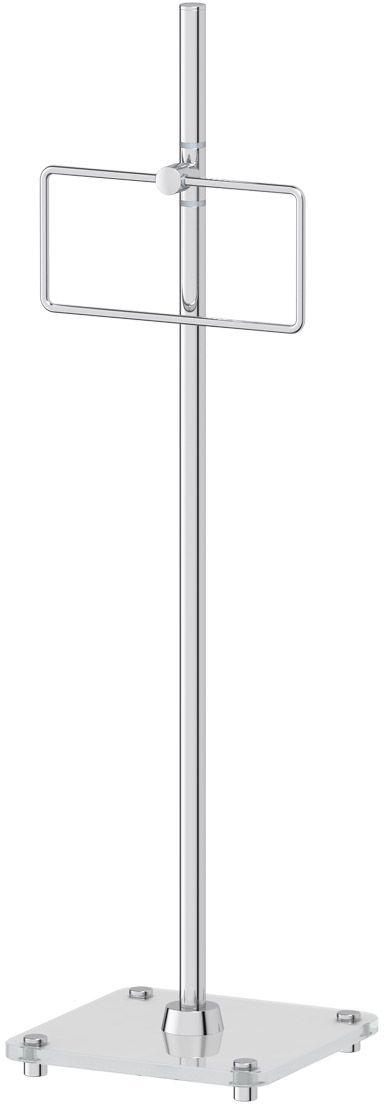 Стойка с держателем полотенца для ванной FBS Universal, 80 см, цвет: хром. UNI 307UNI 307Аксессуары торговой марки FBS производятся на заводе ELLUX Gluck s.r.o., имеющем 20-летний опыт работы. Предприятие расположено в Злинском крае, исторически знаменитом своим промышленным потенциалом. Компоненты из всемирно известного богемского хрусталя выгодно дополняют серии аксессуаров. Широкий ассортимент, разнообразие форм, высочайшее качество исполнения и техническое?совершенство продукции отвечают самым высоким требованиям. Продукция FBS представлена на российском рынке уже более 10 лет и за это время успела завоевать заслуженную популярность у покупателей, отдающих предпочтение дорогой и качественной продукции.