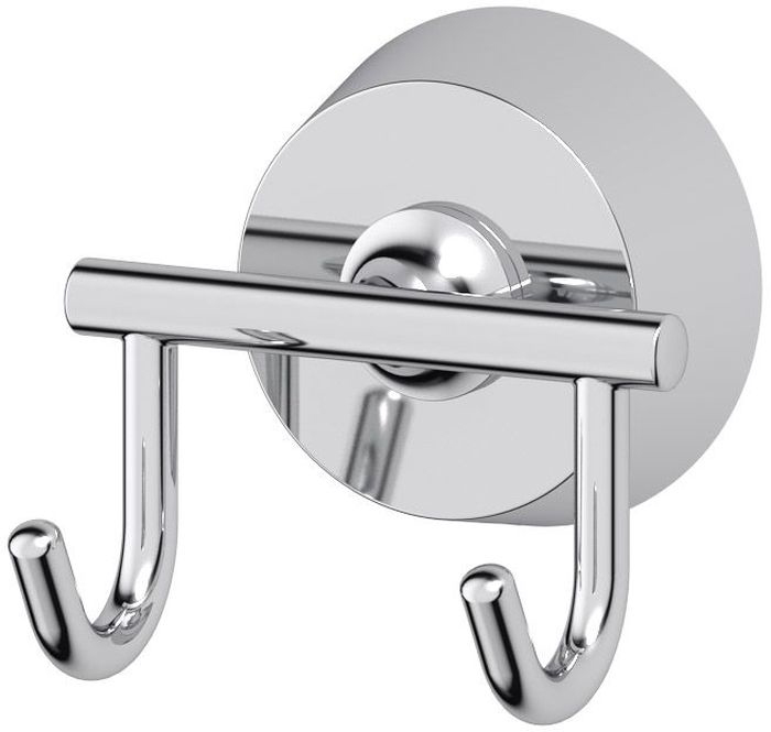 Крючок для ванной FBS Vizovice, двойной. VIZ 002VIZ 002Двойной крючок для ванной FBS Vizovice изготовлен из высококачественнойхромированной латуни, устойчивой к коррозии в условияхвысокой влажности в ванной комнате. Навесные крючки - это практичное решение для размещения аксессуаров, полотенец или банных принадлежностей, позволяющее сэкономить пространство и организовать порядок в ванной комнате. Изделие крепится к стене при помощи шурупов. Классический дизайн подойдет для любогоинтерьера ванной комнаты.Аксессуары торговой марки FBS производятся на заводе ELLUX Gluck s.r.o., имеющем 20-летний опыт работы. Предприятие расположено в Злинском крае, исторически знаменитом своим промышленным потенциалом. Компоненты из всемирно известного богемского хрусталя выгодно дополняют серии аксессуаров. Широкий ассортимент, разнообразие форм, высочайшее качество исполнения и техническое совершенство продукции отвечают самым высоким требованиям. Продукция FBS представлена на российском рынке уже более 10 лет и за это время успела завоевать заслуженную популярность у покупателей, отдающих предпочтение дорогой и качественной продукции.