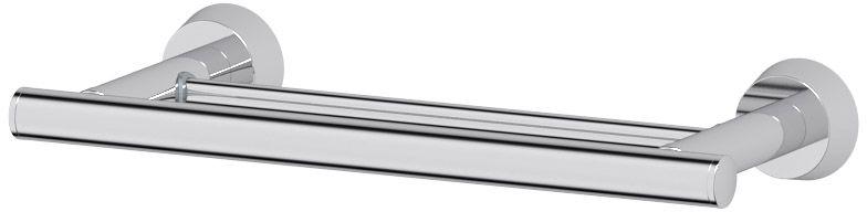 Штанга для полотенца FBS Vizovice, двойная, 30 см. VIZ 034VIZ 034Штанга для полотенца FBS Vizovice изготовлена из высококачественной хромированной латуни, устойчивой к коррозии в условиях высокой влажности в ванной комнате.Изделие имеет двойную конструкцию и крепится к стене при помощи шурупов.Классический дизайн подойдет для любого интерьера ванной комнаты.Длина штанги: 30 см.Аксессуары торговой марки FBS производятся на заводе ELLUX Gluck s.r.o., имеющем 20-летний опыт работы. Предприятие расположено в Злинском крае, исторически знаменитом своим промышленным потенциалом. Компоненты из всемирно известного богемского хрусталя выгодно дополняют серии аксессуаров. Широкий ассортимент, разнообразие форм, высочайшее качество исполнения и техническое совершенство продукции отвечают самым высоким требованиям. Продукция FBS представлена на российском рынке уже более 10 лет и за это время успела завоевать заслуженную популярность у покупателей, отдающих предпочтение дорогой и качественной продукции.