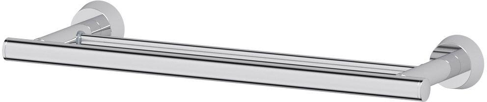 Штанга для полотенца FBS Vizovice, двойная, 40 см, цвет: хром. VIZ 035VIZ 035Аксессуары торговой марки FBS производятся на заводе ELLUX Gluck s.r.o., имеющем 20-летний опыт работы. Предприятие расположено в Злинском крае, исторически знаменитом своим промышленным потенциалом. Компоненты из всемирно известного богемского хрусталя выгодно дополняют серии аксессуаров. Широкий ассортимент, разнообразие форм, высочайшее качество исполнения и техническое?совершенство продукции отвечают самым высоким требованиям. Продукция FBS представлена на российском рынке уже более 10 лет и за это время успела завоевать заслуженную популярность у покупателей, отдающих предпочтение дорогой и качественной продукции.