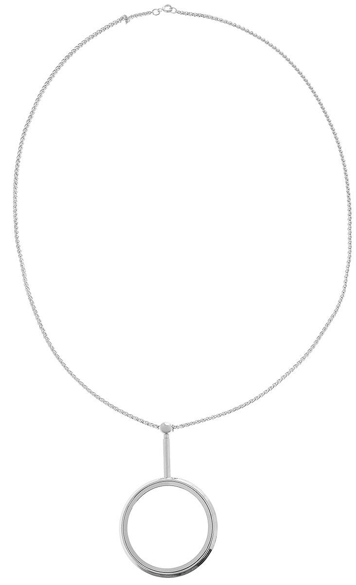 Лупа Eschenbach Ornamental, на цепочке, 3.5х 10.0 дптр, диаметр 4 см лупа ручная eschenbach biconvex 3 25х 9 0 дптр диаметр 4 5 см