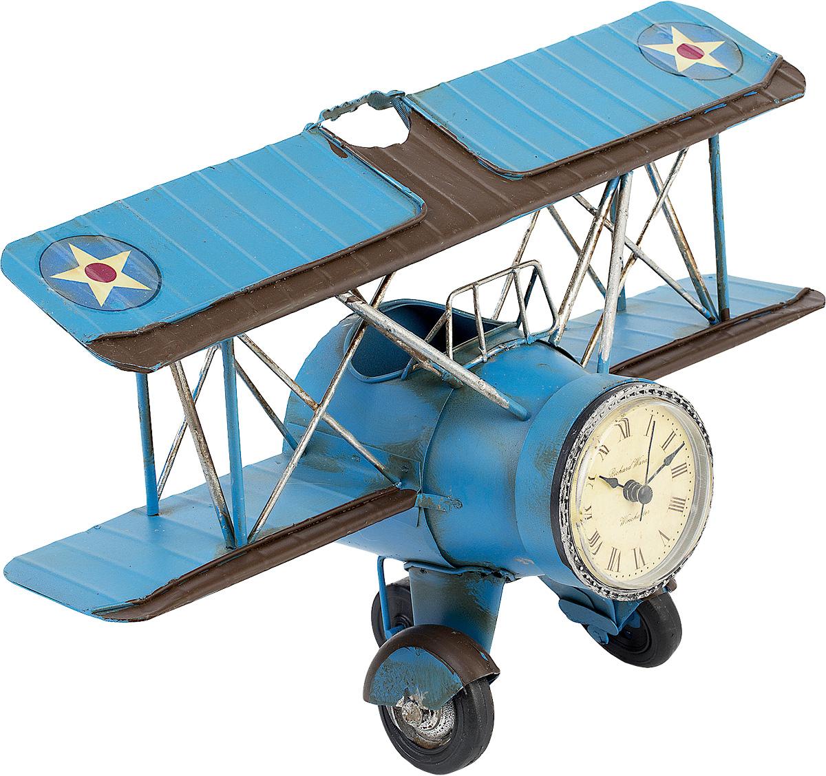 Подставка для ручек Platinum  Часы. Аэроплан  -  Органайзеры, настольные наборы