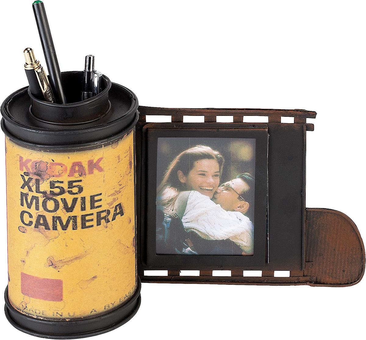 Подставка для ручек Platinum  Фотопленка. Kodak , с фоторамкой -  Органайзеры, настольные наборы