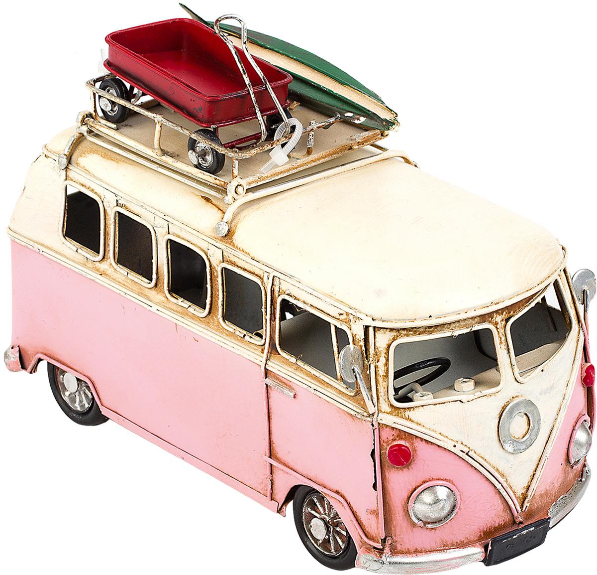 Модель Platinum Автобус, с фоторамкой. 1404E-43531404E-4353Модель Platinum Автобус, выполненная из металла, станет оригинальнымукрашением вашегоинтерьера. Вы можете поставить модель автобуса в любом месте, где онабудет удачно смотреться. Изделие дополнено фоторамкой, куда вы можете вставить вашу любимуюфотографию. Качество исполнения, точные детали и оригинальный дизайн выделяют этумодель среди ряда подобных. Модель займет достойное место в вашейколлекции, а также приятно удивит получателя в качестве стильного сувенира. Размер фотографии: 4 х 5 см.