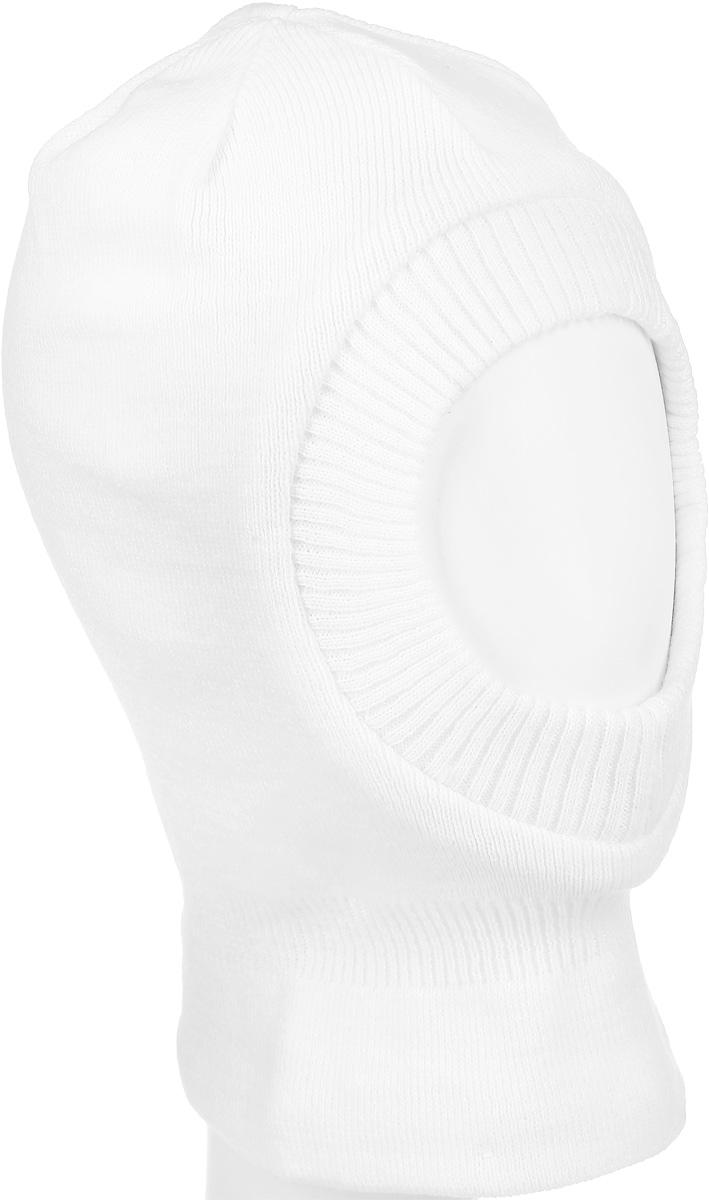 Шапка-шлем для девочки Button Blue, цвет: белый. 216BBGX73040200. Размер 50, 3-5 лет216BBGX73040200Теплая шапка-шлем для девочки Button Blue выполнена из 100% акрила, подкладка выполнена из натурального хлопка. Шейная часть изделия связана резинкой. Уважаемые клиенты! Обращаем ваше внимание на тот факт, что размер, доступный для заказа, является обхватом головы.