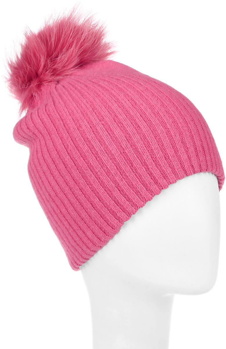 Шапка для девочки Gulliver, цвет: розовый. 21606GKC7303. Размер 52 сарафан для девочки gulliver цвет черный 217gsgc5001 размер 158