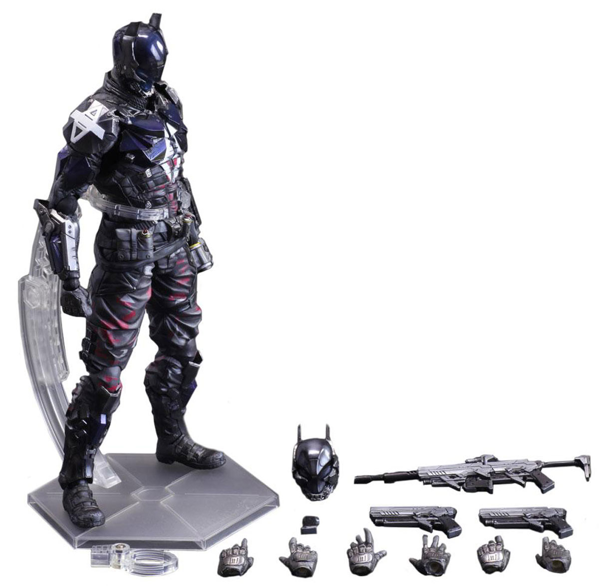 Batman Arkham Knight. Фигурка Play Arts Kai Arkham Knight 27 см halo 5 guardians фигурка play arts kai spartan locke 27 см