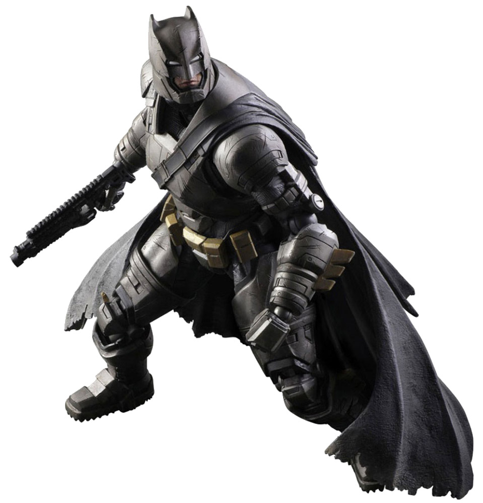 Batman v Superman: Dawn Of Justice. Фигурка Play Arts Kai Armored Batman 27 см huong movie 30cm batman v superman dawn of justice the dark night batman armored blinde pvc figure collectible model toys