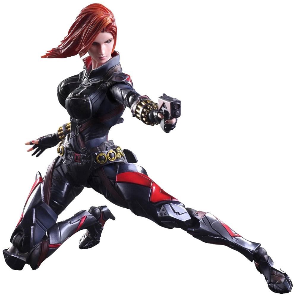 Marvel Universe. Фигурка Variant Play Arts Kai Black Widow 27 см фигурка heroclix marvel classics ironman and black widow neca