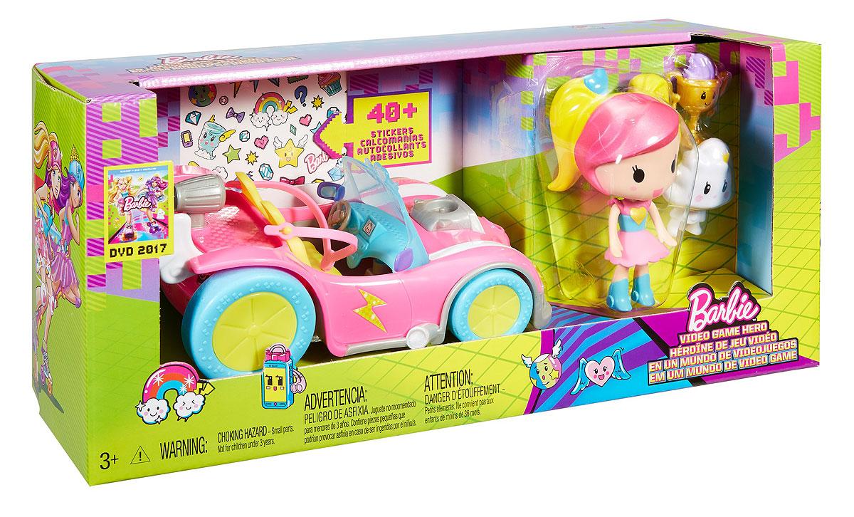 BarbieИгровой набор с мини-куклой Video Game Hero