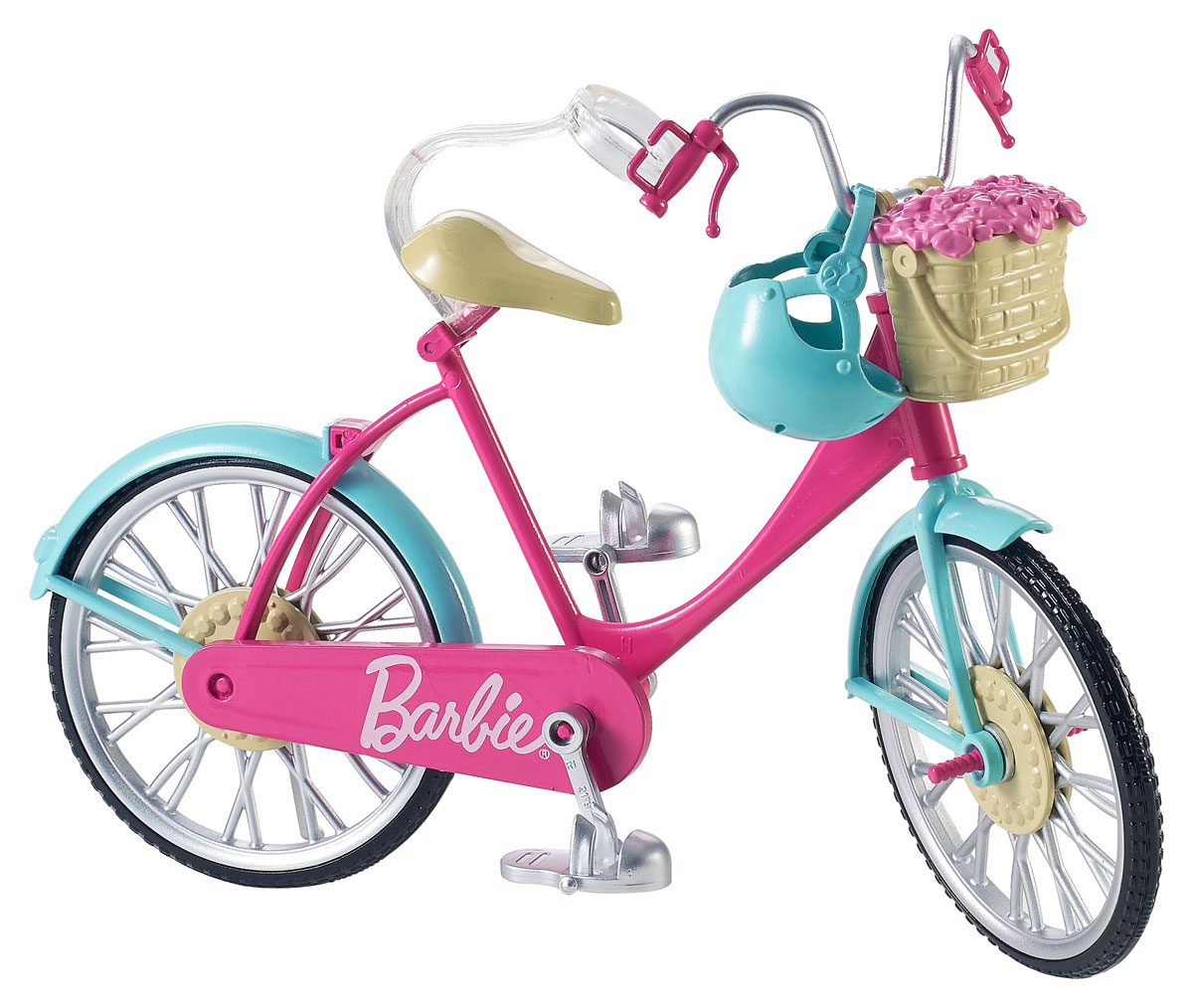 Barbie Велосипед для куклы холодильник lg ga b429smcz silver