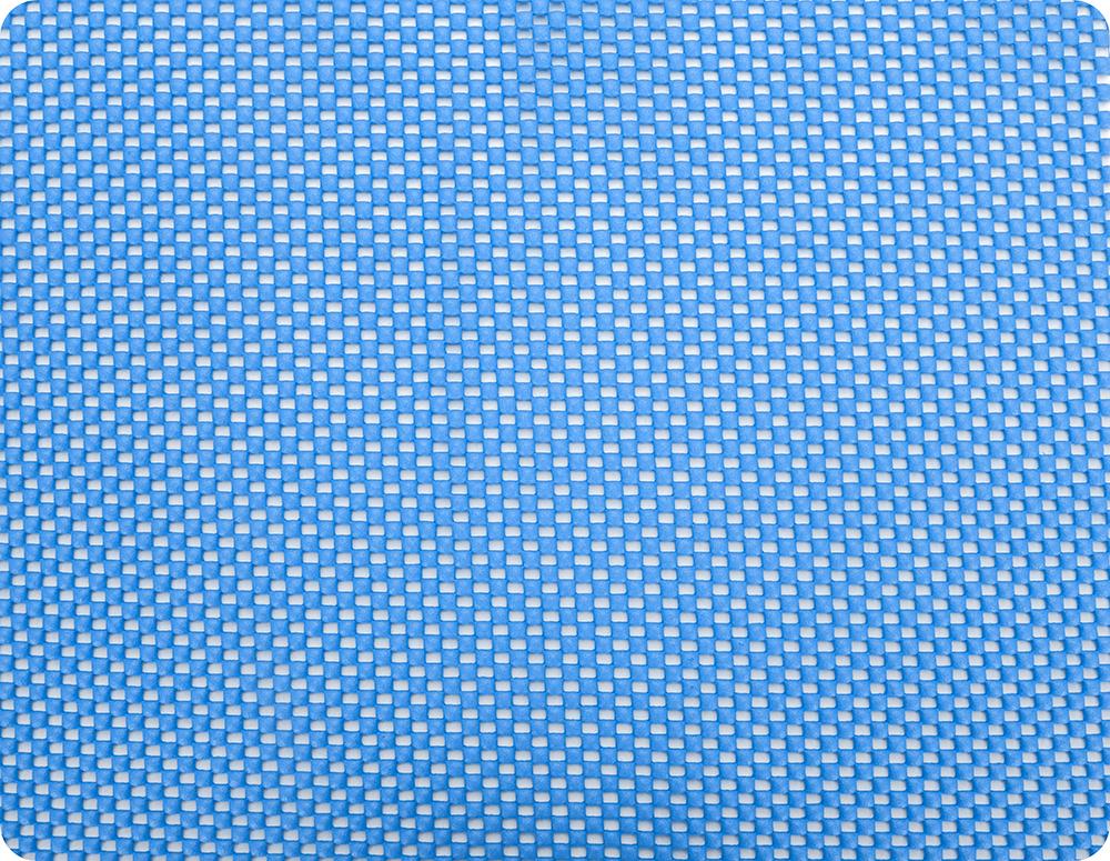 Коврик кухонный Regent Inox Mat, универсальный, цвет: голубой, 31 х 26 см93-AC-MT-26.1Коврик Regent Inox Mat изготовлен из вспененного поливинилхлорида и оснащен армированной нитью. Мягкий, гибкий, легкий, прочный, практичный и гигиеничный коврик, абсорбирует влагу и позволит бережно просушить кружки, фужеры, любую посуду. Обладает противоскользящими свойствами, идеален в виде подставки для скользких поверхностей. Защита деликатных поверхностей от повреждений, сколов и царапин, удобно применять в холодильнике и на кухонных поверхностях. Использование в качестве сервировочной салфетки, защита стола от пятен и царапин. Моется водой с использованием обычных моющих средств. Не применять в качестве подставки под горячее.