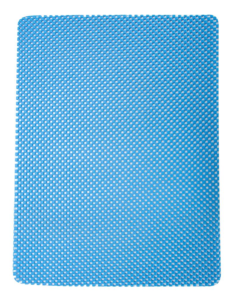 Коврик кухонный Regent Inox Mat, универсальный, цвет: голубой, 40 х 31 см93-AC-MT-40.1Коврик Regent Inox Mat изготовлен из вспененного поливинилхлорида и оснащен армированной нитью. Мягкий, гибкий, легкий, прочный, практичный и гигиеничный коврик, абсорбирует влагу и позволит бережно просушить кружки, фужеры, любую посуду. Обладает противоскользящими свойствами, идеален в виде подставки для скользких поверхностей. Защита деликатных поверхностей от повреждений, сколов и царапин, удобно применять в холодильнике и на кухонных поверхностях. Использование в качестве сервировочной салфетки, защита стола от пятен и царапин. Моется водой с использованием обычных моющих средств. Не применять в качестве подставки под горячее.