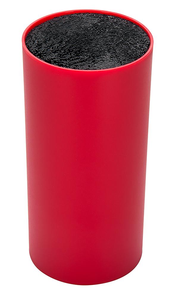 Подставка для ножей Regent Inox Block, 11 х 11 х 22 см93-KN-WB-11Подставка для ножей Regent Inox Block отлично дополнит интерьер вашейкухни. Легкий корпус выполнен из высококачественного пластика.Наполнитель в виде щетки гигиеничен и вынимается без труда. Лезвия ножейпри хранении не касаются друг друга, тем самым максимально сохраняясвою остроту.Такая подставка станет прекрасным подарком, а ее изящный дизайн станетукрашением вашей кухни.Высота подставки: 22 см. Диаметр подставки: 11 см.