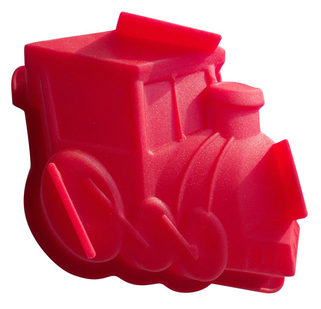 Форма для выпечки Regent Inox Локомотив, силиконовая, цвет: малиновый, 10 х 13 х 4 см93-SI-FO-89В силиконовой форме Regent Inox Локомотив можно делать разные блюда в различных духовых шкафах, микроволновых печах, аэрогрилях. Достать готовую выпечку из этой формы не составит труда, т.к. тесто не пристает к стенкам, которые хорошо сгибаются. Данная форма не вступает во вредное взаимодействие с продуктами, не передаёт и не впитывает запахи. Эта легкая в уходе и долговечная в использовании форма станет незаменимой в создании кулинарных шедевров. Она подойдет для выпечки и заморозки.