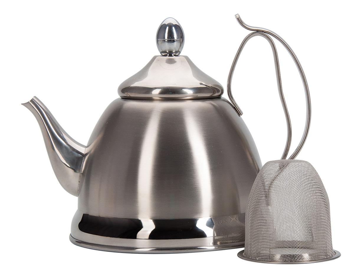 """Чайник заварочный Regent Inox """"Promo"""", с ситечком, 0,8 л"""