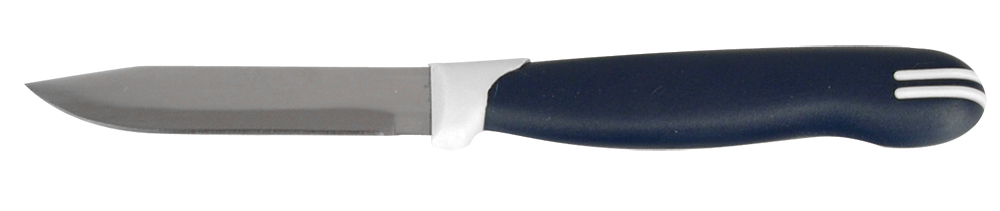 Нож для овощей Regent Inox Linea Talis, 8 х 19 см93-KN-TA-6.1Нож Regent Inox Linea Talis идеален для нарезки овощей и фруктов. Такое изделие пригодится каждой хозяйки. Этот кухонный аксессуар сделан из нержавеющей стали и пластика. Данные материалы обладают потрясающей прочностью, антикоррозионными свойствами и долгим сроком службы. Посуда 93-KN-TA-6.1 предназначена для профессионального и домашнего использования. Эргономичная ручка синего цвета удобно ложится в ладонь, позволяя очень точно контролировать глубину надреза. Изделие является экологичным: оно не вступают в химическую реакцию с продуктами, сохраняя их натуральный вкус.