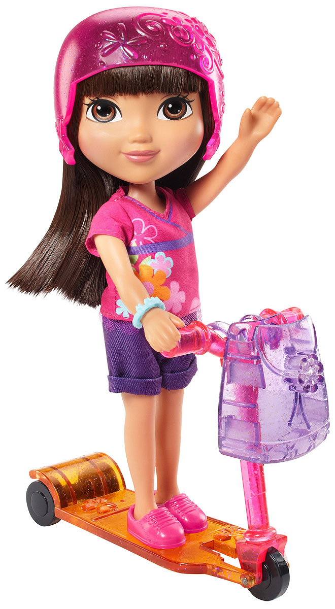 Dora and Friends Игровой набор c куклой Dora Loves Adventure missiya игровой набор суперагент звуковой бинокль