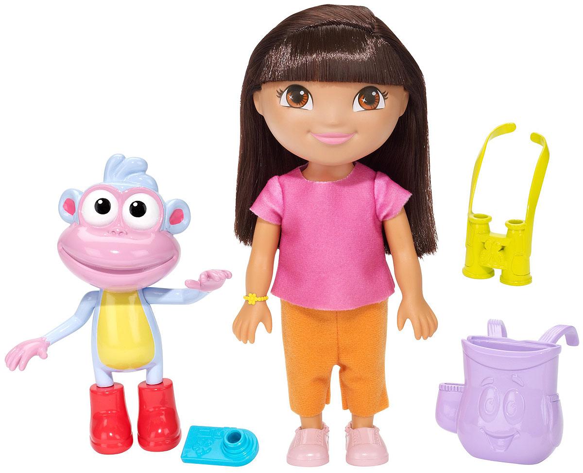 Dora the Explorer Игровой набор с куклой Ready To Explore missiya игровой набор суперагент звуковой бинокль