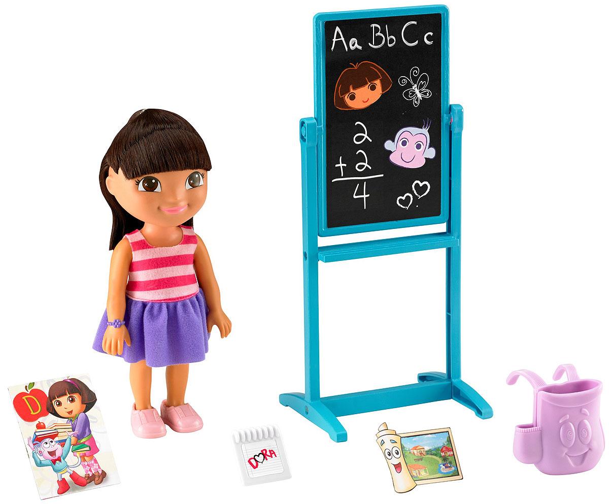 Dora the Explorer Игровой набор c куклой School Explorer dora the explorer little girls ballet dance pajama set