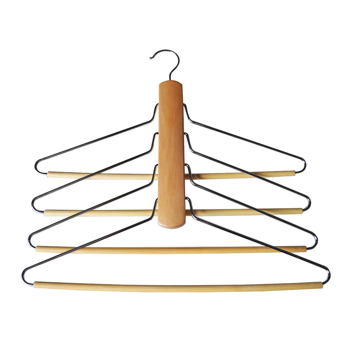 Вешалка HomeQueen, деревянная, с одним крючком для подвешивания, цвет: светло-коричневый, длина 30 см318248-038Вешалка HomeQueen изготовлена из дерева. Оснащена четырьмя плечиками и одним крючком для подвешивания.Вешалка - это незаменимая вещь для того, чтобы ваша одежда всегда оставалась в хорошем состоянии.